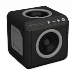 AudioCube bluetooth speaker voor thuis en onderweg - Oranje / Zwart