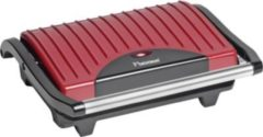 Bestron Grill APG100R, rot, 700 Watt, Antihaftbeschichtung