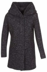 Zwarte Only Onlsedona Boucle Wool Coat Otw Noos Coats Black