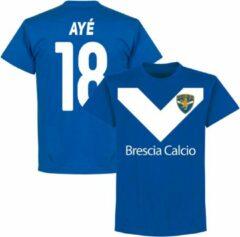 Retake Brescia Aye 18 Team T-Shirt - Blauw - XL