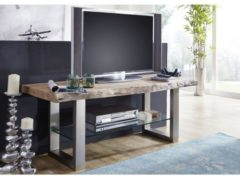 TV-Board FREEFORM Massivmoebel24 natural stone