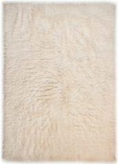 Hochflor-Teppich, »Flokos 1«, Theko exklusiv, rechteckig, Höhe 40 mm, handgewebt
