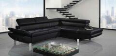 Maxicomfy Loungebank Class - Zwart - Lounge rechts