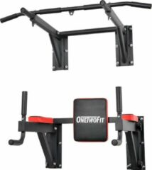 Rode OneTwoFit | Pull up bar | Dip bar | Power station | Stevig materiaal | HomeGym