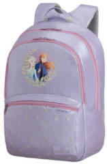 Paarse Samsonite Disney Ultimate 2.0 Backpack M Disney frozen Kindertas