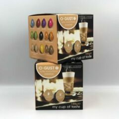 O-Gusto O-Gust Latte Macchiato Caramel Koffiecups - 4 x 16 cups