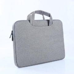 MoKo H221 Sleeve 15.4 inch Notebook Tas - Hoes Multipurpose voor Laptop en Macbook Sleeve - grijs