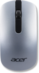 Zilveren Acer AFM820 muis Optisch 1000 DPI Ambidextrous