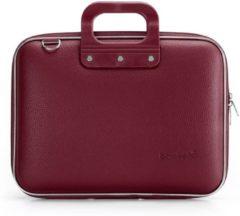 Bordeauxrode Bombata Medio Hardcase Laptoptas 13 inch Burgundy Red