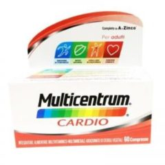 Multicentrum Cardio Integratore Alimentare Multivitaminico Multiminerale 60 compresse