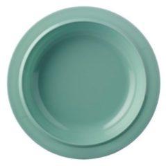 Groene Mepal Basic diep bord (Ø19,2 cm) (melamine)