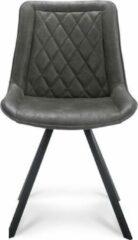Happy Chairs - Eetkamerstoel Xavi - Bull Grafiet