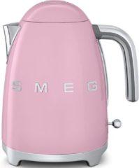 Smeg KLF03PKEU retro 50's style waterkoker, roze