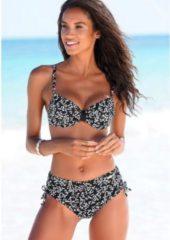 Zwarte LASCANA bikinibroekje »Meadow«