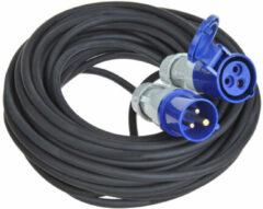 Blauwe ProPlus CEE verlengkabel 3G 1,5mm neopreen 40 meter