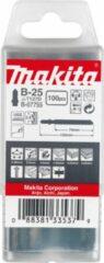 Makita Accessoires Decoupeerzaagblad B25 - T127D | 100 stuks
