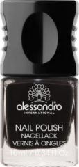 Zwarte Alessandro Nail Polish - 77 Midnight Black - 10 ml
