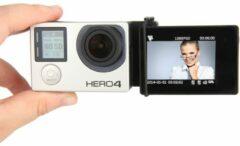 Zwarte Merkloos / Sans marque Selfie LCD Screen Adapter / Converter voor GoPro