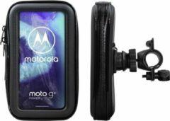 Shop4 - Motorola Moto G8 Power Lite Fietshouder Stuur Spatwaterdicht Zwart