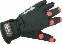 Zwarte Gamakatsu Power Thermal Gloves - Handschoenen - Maat L