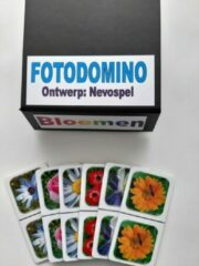 Nevospel Denkspel voor mensen met dementie FotoDomino Bloemen