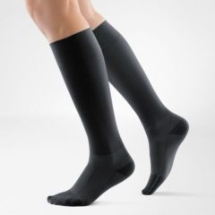 Zwarte Bauerfeind Compression Socks Run & Walk (Per paar)