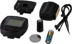 Zwarte Bicycle Gear Fietscomputer Draadloos 14 Functies