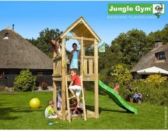 Jungle Gym Speeltoren met Glijbaan (lichtgroen) Club