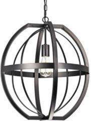 Groenovatie Angers Industrieel - Metalen - Hanglamp - Ø 50 cm - Zwart