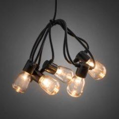 Konstsmide 2387-800 Party-lichtketting Buiten Energielabel: A (A++ - E) werkt op het lichtnet 40 + 80 Gloeilamp, LED Helder, Amber Verlichte lengte: 9.75 m