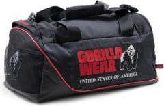 Gorilla Wear Jerome Sporttas - Zwart/Rood