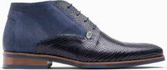 Blauwe Paulo Bellini Boots Deruta Natu Serp Blue.