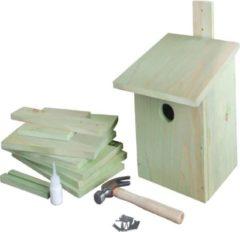 Groene Esschert Design Doe-het-zelf vogelhuis 21,3x17x23,3 cm KG52