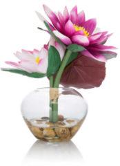 """Fleurange Wasserlilie """"Lilly"""" in Glasvase"""