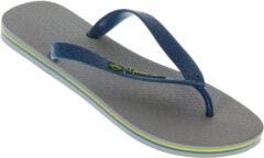 Ipanema Classic Brasil Slippers - Maat 45/46 - Unisex - grijs/blauw/geel