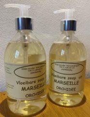 Provendi Vloeibare Marseille zeep, pompje 2 x 500 ml Orchidee