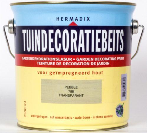 Afbeelding van Hermadix Tuindecoratiebeits Transparant - 2,5 liter - 788 Pebble