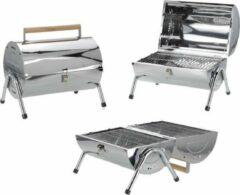 Roestvrijstalen LOKS Barbecue / BBQ met Dubbel Grilloppervlak