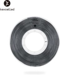 Kexcelled PLA Silk Black/zwart - ±0.03 mm - 0.5 kg - 1.75 mm - 3D printer filament
