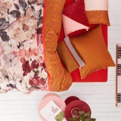 Oilily Mellow Rose - Dekbedovertrek - Lits-jumeaux - 240x200/220 cm + 2 kussenslopen 60x70 cm - Rood