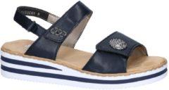 Blauwe Rieker Sandalen/Sandaaltjes