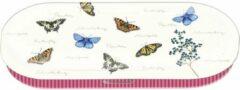 Witte Fridolin Brilkoker met vlinders nature fun