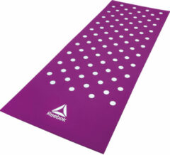 Reebok trainingsmat Spots 7 mm paars