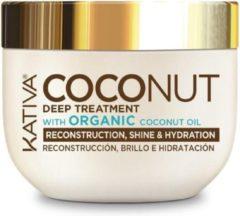 KATIVA Maschera Capillare Coconut Deep Treatment – 250 ml haarmasker