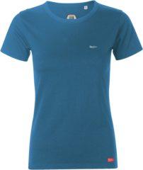 Blauwe Classic .. T-Shirt Regular fit Slate Blue - Maat XL - Off Side - incl. Gratis rugzak