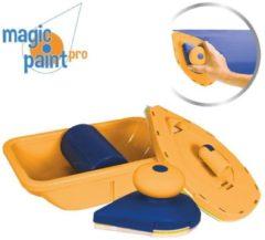 Blauwe Orange Donkey Magic Paint Pro - Verf Pad Point Verfset - Muurrollerset - Verfhulp - Schildertool - Handig verfgereedschap - Anti drup roller - Verven zonder spatten