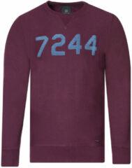 Bordeauxrode Victim Sweater