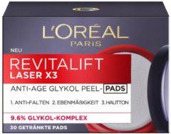 L'Oreal Deutschland GmbH - L'Oreal Paris L'Oreal RevitaLift Laser X3 Anti-Age Glykol Peel Pads