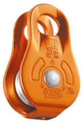 Petzl - Fixe - Aluminium katrol oranje