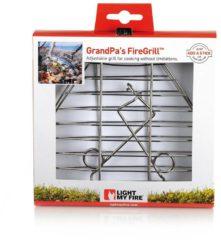Zilveren LightMyFire Light My Fire GrandPa's FireGrill - grilklem voor boven vuur